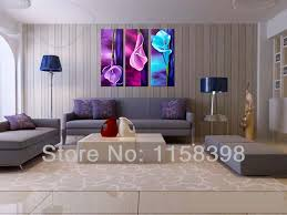 hand painted modern home wall for art living room bedroom hall