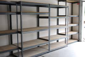 garage measurements metal wall shelves for garage
