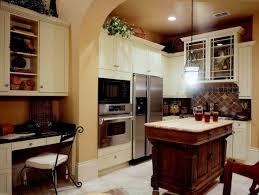 kitchen country vintage kitchen design idea with white cabinet