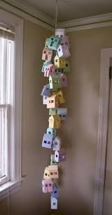 handmade decorative birdhouses adding personality to modern home decor
