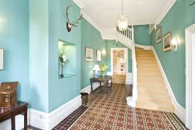 color ideas for chic hallway design enchanting wall