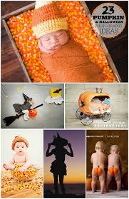 Baby Halloween Pumpkin - halloween pictures and pumpkin photography ideas for your family