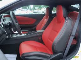 2010 camaro rs interior black inferno orange interior 2010 chevrolet camaro ss rs coupe