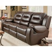 Reclining Sofas And Loveseats Titan Living Room Reclining Sofa Loveseat Chocolate 71406