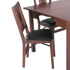 Upholstered Folding Dining Chairs Excellent B Q Folding Dining Chairs Gallery Regarding Foldable