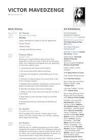 art teacher resume samples visualcv resume samples database