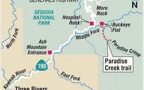 Buckeye Trail Map Paradise Creek Trail An U0027overlooked Splendor U0027 The Fresno Bee