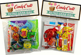 candy bags retro candy gifts and vintage candy assortments retro candy grab
