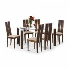 dining set julian bowen cayman dining set cay101 cay102 6 chairs