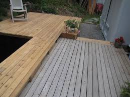 need help with pond deck staining 101