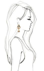 image result for drawing side view fashion basic illustration