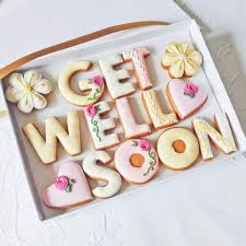 get well soon cookies get well soon gift box funky food gifts