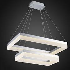 Led Dining Room Lights by Whole Led Pendant Light Modern Rectangle Pendant Suspension Light