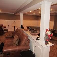 basement pole ideas basements ideas