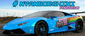 Lamborghini Huracan Ugly - deadmau5 just ordered a nyan cat liveried lamborghini huracan