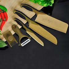 titanium kitchen knives titanium kitchen knives ebay