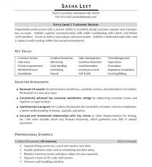 Resume Template For Customer Service Skills For Resume For Customer Service Resume Template And