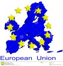 European Union Map by Contour Map Of European Union Royalty Free Stock Photo Image