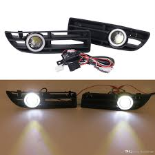 led fog light kit 2018 2x led fog lights kit for vw bora jetta tdi gls glx 1999 2004