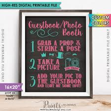 sweet 16 guest sign in book guestbook photobooth sign graduation sweet 16 birthday party