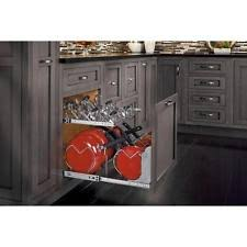 Cabinet Pan Organizer Rev A Shelf Kitchen Pot Racks Ebay