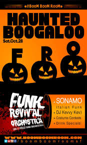 haunted boogaloo w funk revival orchestra 11 piece funk