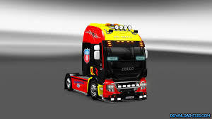 skin pack new year 2017 for iveco hiway and volvo 2012 2013 iveco skins