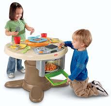 amazon com fisher price servin u0027 surprises kitchen u0026 table toys
