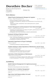 Aviation Resume Examples by Product Development Manager Resume Samples Visualcv Resume