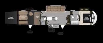voltage toy hauler floor plans uncategorized voltage toy hauler floor plan awesome within