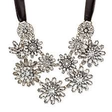 crystal necklace statement images Sugarfix by baublebar crystal floral statement necklace target
