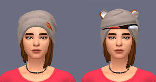 cc hair for sism4 make hats not appear on certain cc hair solved sims 4 studio