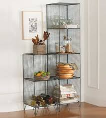 classic wire shelving units with steel pantry shelving unit design