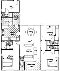 A Three Bedroom House Plan 5 Bedroom Bungalow House Plans In Kenya Savae Org