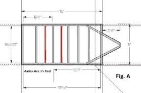 1 trailer plans 8x16 low deck tandem utility trailer plans