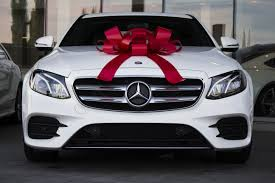 new car gift bow why a mercedes is a and affordable graduation gift