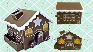 diy house ornament papercraft tutorial