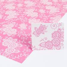 pink wrapping paper pink floral wrapping paper gift tag set pack of 2 only 99p