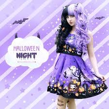 halloween online store halloween night cute kawaii skater dress and skirt sd15