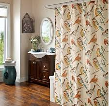 Snowman Shower Curtain Target Bird Shower Curtain Ebay