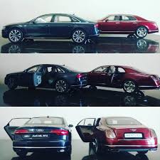 bentley mulsanne 2014 bentley mulsanne speed 2014 vs audi a8 l w12 2014 diecastpix