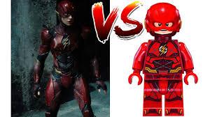 lego movie justice league vs lego flash new suit justice league characters side by side movie