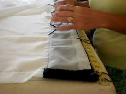How To Sew Curtains With Rings Draperies On Rings Youtube
