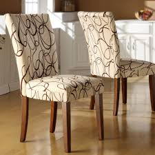 Fabric Dining Chair Covers Reupholstering Dining Room Chair Cover Fabric Ideas