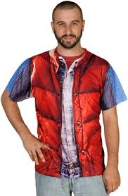 Marty Mcfly Halloween Costume 80s Marty Mcfly Costume Future Totally 80s