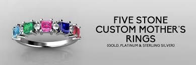 design a mothers ring custom 5 s rings family rings