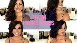 Easy And Elegant Hairstyles For Long Hair by Easy Prom Hairstyles For Medium U0026 Long Hair Hair Tutorial Youtube