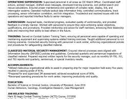 security resumes examples military resume examples example resume and resume objective download military resume examples