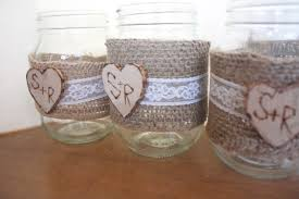 jar ideas for weddings rustic folk weddings is on etsy