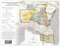 Grand Canyon Map Usa by Renewed Threats To The Grand Canyon Loom